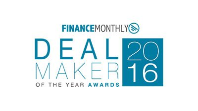 Finance Monthly - Deal Maker of the Year - 2016
